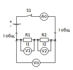 Последовательное соединение проводников