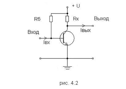 Транзисторный усилитель с общим эммитером