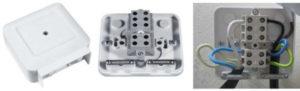 Подключение электроплиты через клемную коробку