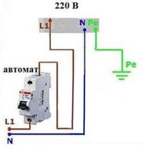 Подключение электроплиты без УЗО
